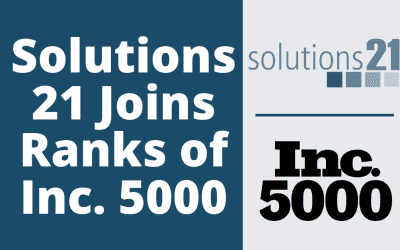 Pittsburgh-Based Solutions 21 Joins Ranks of Inc. 5000
