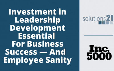 Investment In Leadership Development Amid Pandemic Essential For Business Sucess — And Employee Sanity